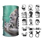 Wfispiy Headband Elephant Butterfly Outdoor Multifunctional Headwear 16 Ways to Wear...