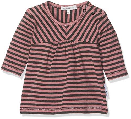Noppies Baby-Mädchen Kleid G Dress Jersey ls Glenview Rosa (Old Pink C104) 62 - Mädchen-rosa-jersey-kleid