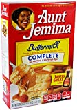 Aunt Jemima Buttermilk Complete Pancake and Waffle Mix 1LB (453g)