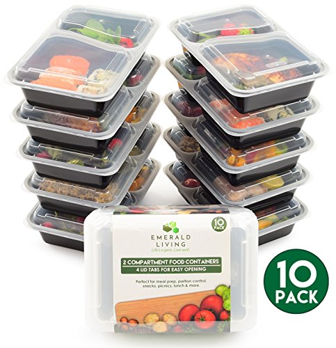 -10-pack-2-fach-meal-prep-container-frischhaltedosen-bento-box-tupperware-set-mit-deckel-splmaschine