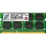 Transcend Arbeitsspeicher 4GB DDR3 1333MHz PC3-10600 CL9 SO-DIMM (204-PIN, für Notebooks)