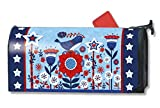 MailWraps Freedom Fence Mailbox Cover #01130