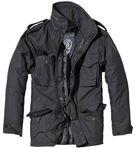 Brandit Giacca Outdoor Uomo M65Field Jacket Parka nero XXXXXL