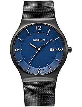 Bering Time Herren-Armbanduhr XL Analog Quarz Edelstahl 14440-227