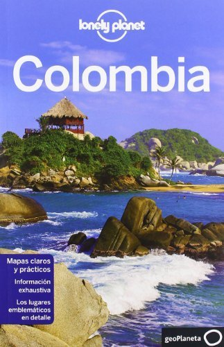 Portada del libro Lonely Planet Colombia (Travel Guide) (Spanish Edition) by Kevin Raub, Alex Egerton, Mike Power (2012) Paperback