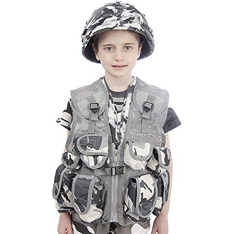 Army bambini urbano Camouflage Assault Vest -