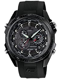 Casio Edifice Herrenuhr Analog Quarz mit Resinarmband – EQS-500C-1A1ER