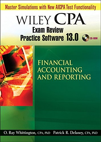 Wiley CPA Examination Review Practice Software 13.0 FAR