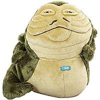 Jazwares 15236sw03712–Star Wars Collectors Edition Medium Figura de peluche con sonido, Jabba The sombrero