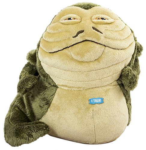 Hüte Star Wars (Star Wars - SW03712 - Jabba the Hut, Plüschfigur mit Sound,)