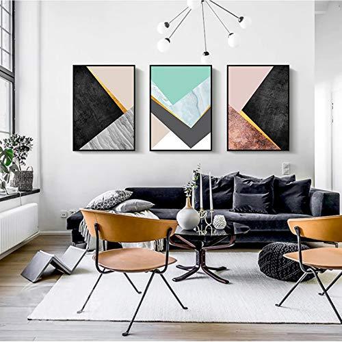 ZJMI Dekorative Malerei Marmor Quotes Wall Art Modern Marvel Leinwand Poster Druck Abstract minimalistische Malerei Bild für Wohnzimmer Home Decoration kein Frame 70 x 100 cm