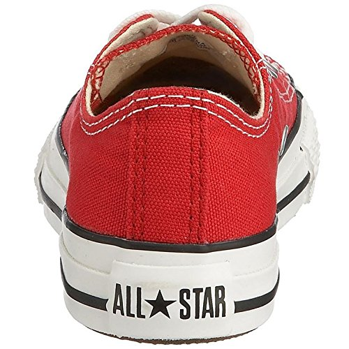Converse-Chuck-Taylor-All-Star-Core-Ox-Zapatillas-Infantil-Blanco-Rojo-34-EU