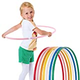 Hoopomania - Aro para niños, infantil, Hoopomania Kinder Hula Hoop, Pink, Ø60cm, rosa, 60 cm