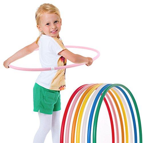 Hoopomania Kinder Hula Hoop Reifen, Pink, Ø60cm