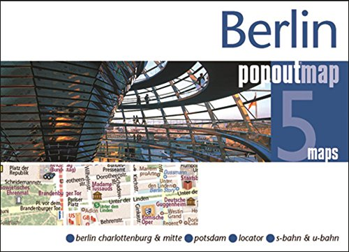 Berlin Popout Map (Popout Maps)