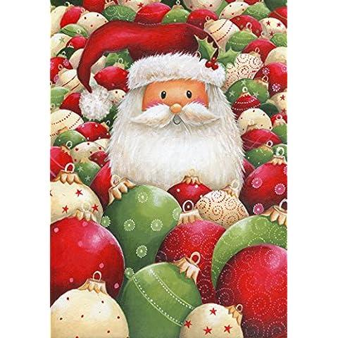 100pc Wentworth in legno Jigsaw Puzzle–Divertente Babbo Natale - Whimsy Snowman