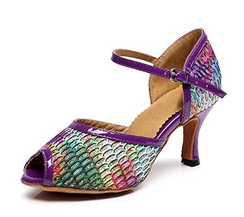 Miyoopark , Salle de bal femme Purple-7.5cm Heel