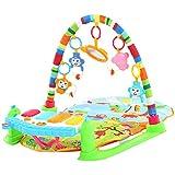 Ametoys Multifunktionale Treten und die Klavier spielen Gym Klavier Bodybuilding Gym mit Blinklichter für Kinder Baby Kind Intelligenz pädagogisches Spielzeug