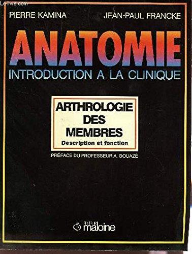 ANATOMIE NUMERO 5 : VAISSEAUX DES MEMBRES. 2ème édition