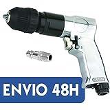 Taladro neumático reversible automático 10 mm para compresor aire comprimido 1800RPM - ENVÍO 48H