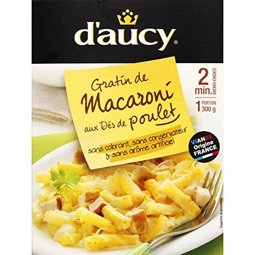 Gratin de macaroni aux dés de poulet micro-ondable - ( Prix Unitaire ) - Envoi Rapide Et Soignée