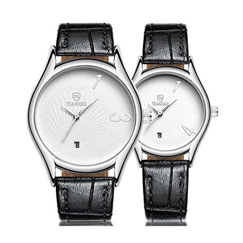 jour-de-saint-valentin-cadeaux-hansee-lovers-montres-bande-de-cuir-2-pcs-ultrafin-etanche-montre-a-q