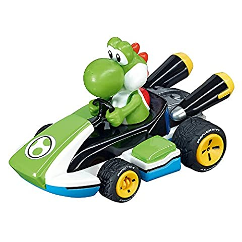 Carrera Go!!! - 20064035 - Voiture De Circuit - Nintendo Mario Kart 8 - Yoshi