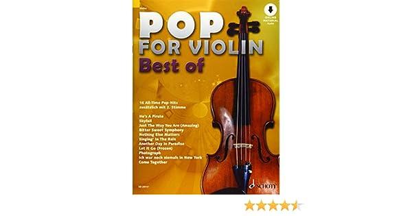 BEST OF Noten für Geige SCHOTT ED 23117 NEU! Zlanabitnig POP FOR VIOLIN