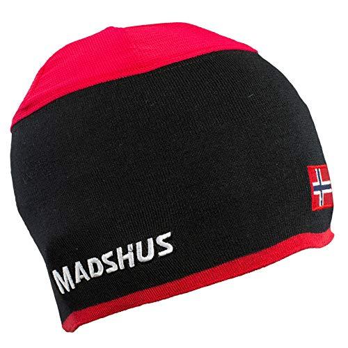 Madshus Mütze Vented Ski - rot - L - 18C4301.1.1.L