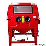 Sandstrahlkabine 990 Liter Sandstrahler Sandstrahlgerät Kabine NEU OVP