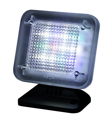 Olympia TV 150 LED Fernsehsimulator (LED - Lichtsensor, Einschaltautomatik, TV Simulator als Einbruchschutz, LED Fernseh-Attrappe mit Lichtsensor, Fake TV Fernsehlicht Simulator mit Timer)