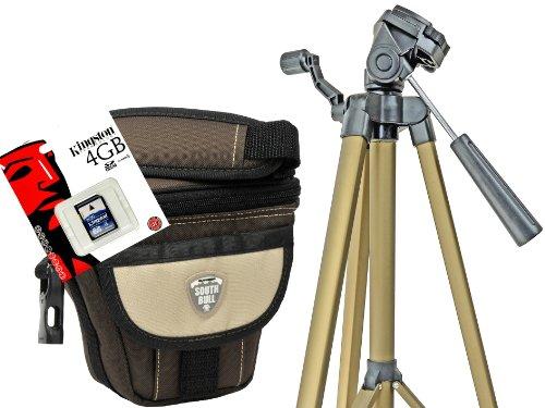 Foto Kamera Tasche Southbull Valley M mit Regencape Set mit 4GB SD Karte und Reise Stativ für Nikon Coolpix B500 B700 L340 L840 P610