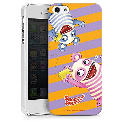 Apple iPhone X Silikon Hülle Case Schutzhülle Sorgenfresser Betti & Bill Fanartikel Merchandise Hard Case weiß