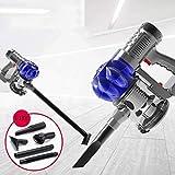 LINLIN Handstaubsauger Staubsauger Staubsammler Auto Ladeluftpumpe Mit Doppeltem Verwendungszweck,Blue,Wired