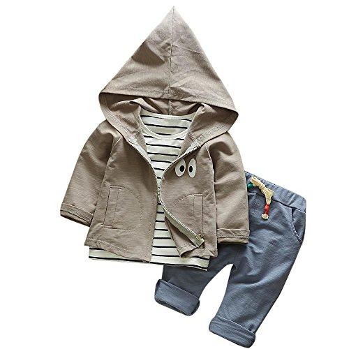 Hirolan 3 Stück Outfits Kleinkind Kind...