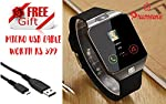 Bluetooth DZ09 Smart Watch Wrist Watch Phone with Camera + FREE GIFT Micro USB Cable Worth Rs 399 Hot Fashion New Arrival Best Selling Premium Quality Lowest Price with Apps like Facebook, Time Schedule, Message, News, Sports, Health, Pedometer, Slee...