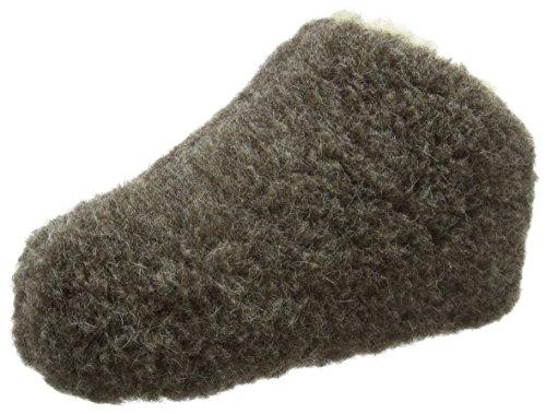 Woolsies Unisex-erwachsene Chapchap Slip-on In Lana Naturale Hausschuhe Grigio (grigio Grafite)