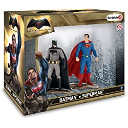 Schleich DC Comics - Set 2 figuras, Batman y Superman