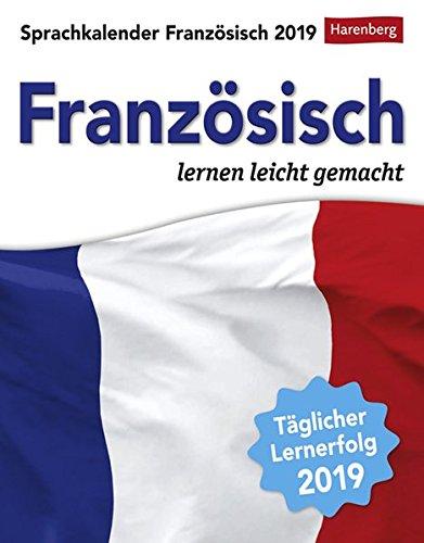 Sprachkalender Französisch 2019: Sprachen lernen leicht gemacht