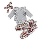 BeautyTop Baby Winter Fleece Overall Jumpsuit Neugeborenes Mädchen Junge Niedlich Bär Strampler Schneeanzug Outfits Spielanzug mit Kapuze Footies