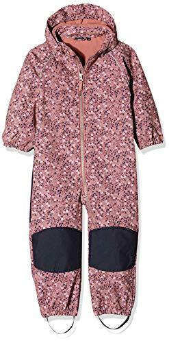 NAME IT Baby-Mädchen NMFALFA Suit SMALL Flower 1FO Schneeanzug, Mehrfarbig Dusty Rose, (Herstellergröße: 86)