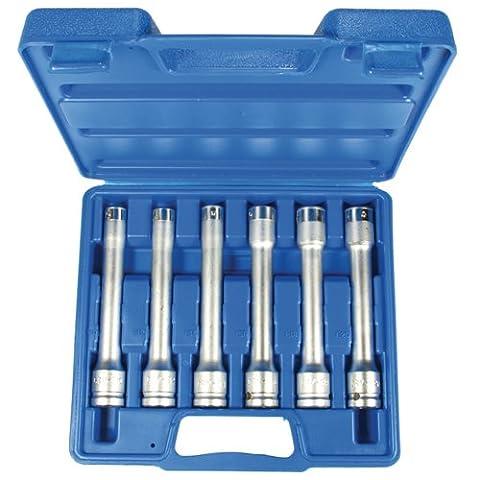'extérieur Torx® Inserts/Jeu de tournevis Extra Long, entraînement 1/2, 6pièces E10–12–14–16–18–20(A2116)