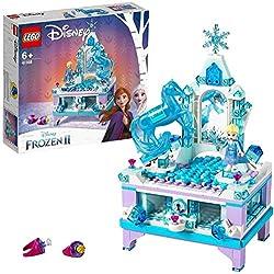LEGO®-Disney PrincessTM La boîte à bijoux d'Elsa Inspiré du palais Reine des Neiges 2 de Disney Jouet Fille et Garçon 6 Ans et Plus, 300 Pièces 41168