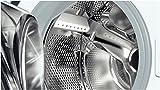 Siemens iq100 Lavatrice Carica Frontale Standard, Metallo, Bianco, 60x55x84 cm