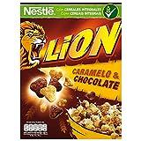 Cereales Nestlé Lion - Cereales de trigo y arroz tostados con crema de...