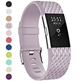 Onedream Compatible pour Fitbit Charge 2 Barcelet Femme Homme, Charge2 Sport Strap...