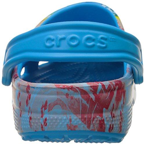 Crocs Classique Tropical Ii Mule Océan