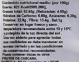 Bioterra, almendra con piel  tostada con sal ecológica, 4 bolsas de 200 g (Total 800 g)