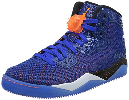 Nike Air Jordan Spike Forty Pe, Chaussures de Sport Homme, Taille Bleu / Orange / Blanc / Noir (Game Royal / Ttl Orng-White-Blk)