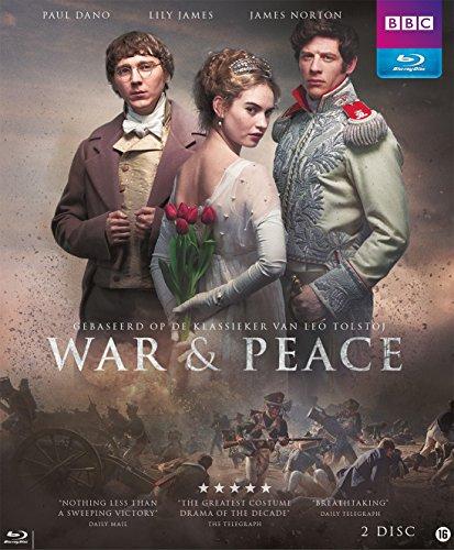 Preisvergleich Produktbild War & Peace - BBC Fernsehserie - Krieg und Frieden von Leo Tolstoi - Blu-ray in Englisch ohne deutsche Sprachfassung